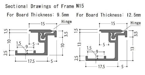 壁用点検口枠N15 製品図.jpg