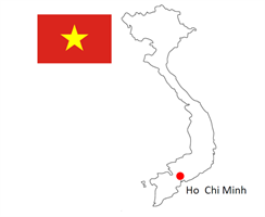 Location of Fukuvi Vietnam