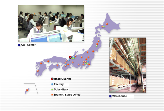 Network in Japan